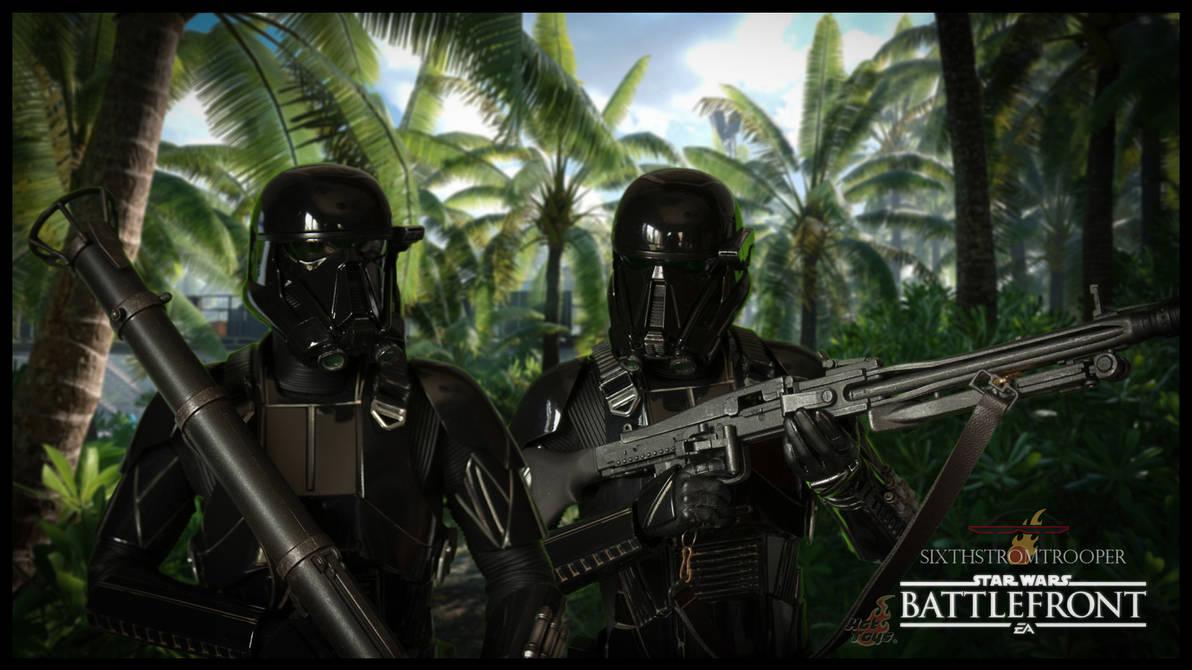 Death Trooper In Scarif By Territorytunguska On Deviantart