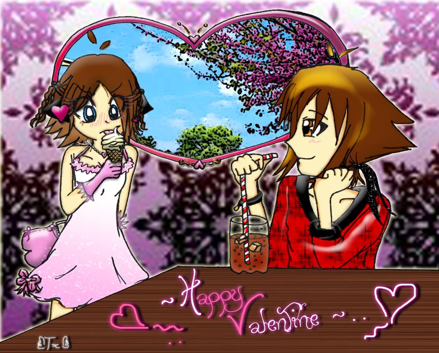 Gotcha Team Happy_valentine_by_judai_andme_by_twinnyblood-d39mp0o