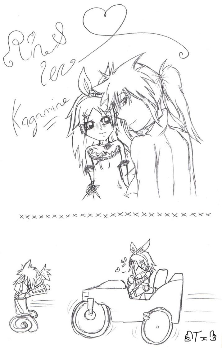 Gotcha Team Rin_and_len_kagamine_by_twinnyblood-d3apd3i