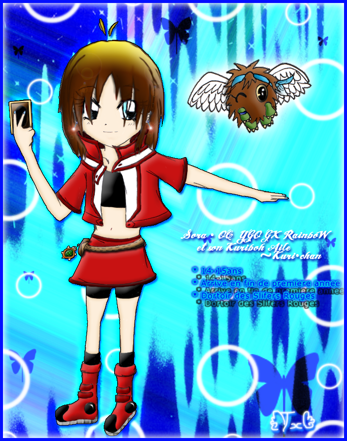 Gotcha Team Sora_and_kuri_chan_by_twinnyblood-d3b8uki