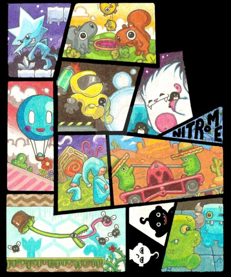 Nitrome Minis by StarlightJune