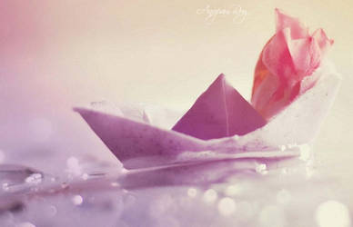 Little hopes in the stormy sea II