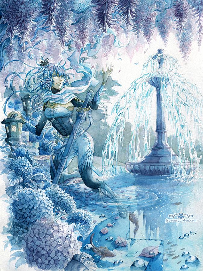 Frozen Garden by Yami-Hydran