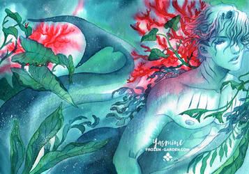 Wyvern comic cover by Yami-Hydran