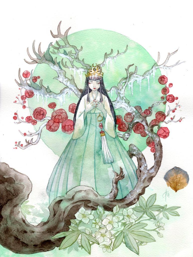 Damavykas Empress by Yami-Hydran