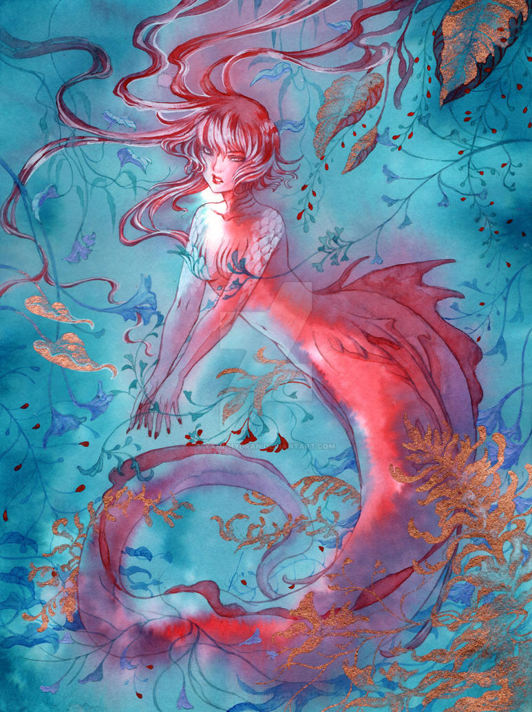 Red Wyvern by Yami-Hydran