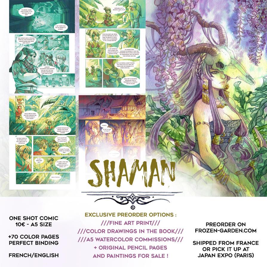 Preorders Shaman by Yami-Hydran