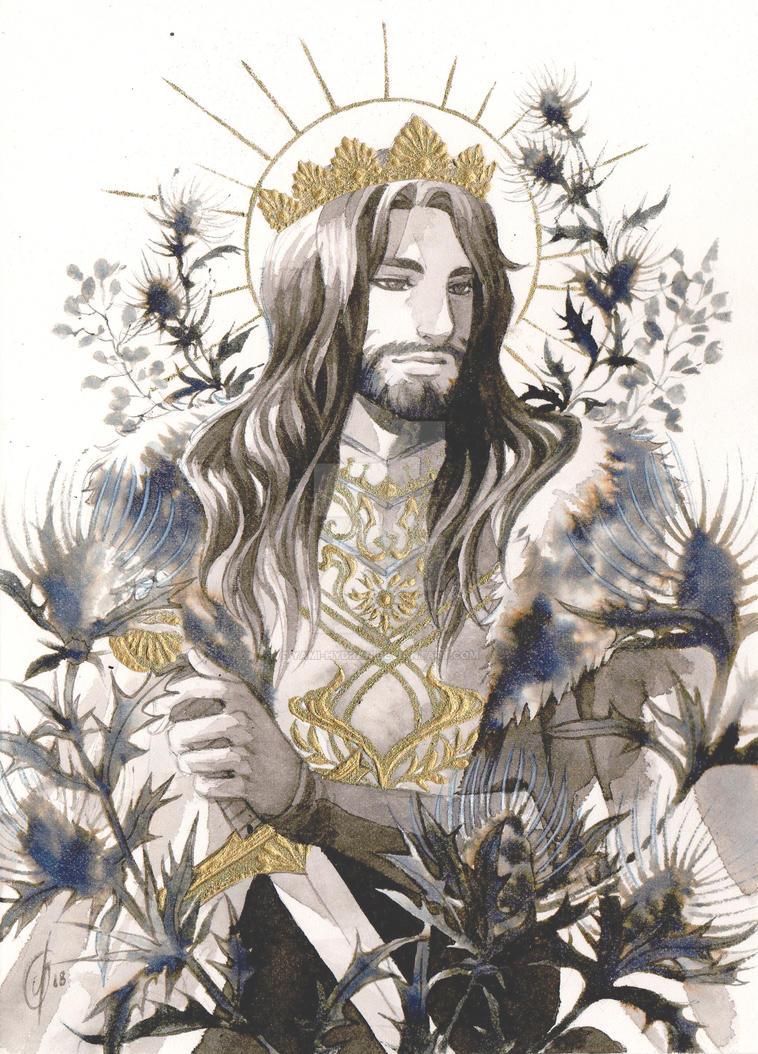 COMMISSION: Arthur by Yami-Hydran