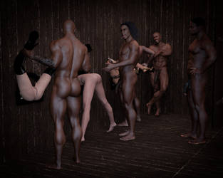 The Wall (Erotic Vignette Inside) by DionysianExperience