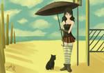 Girl on Beach ??