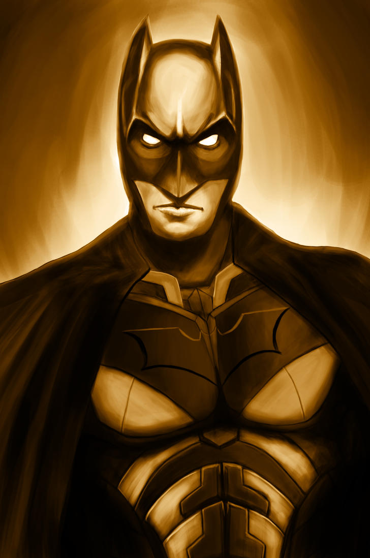 The Dark Knight by Huntersky