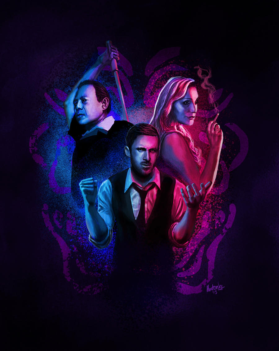 Only God Forgives Neon Poster Only God Forgives by H...