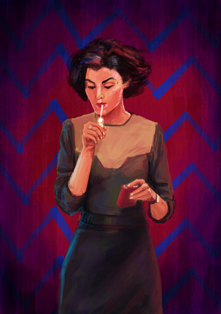 Audrey Horne by Huntersky