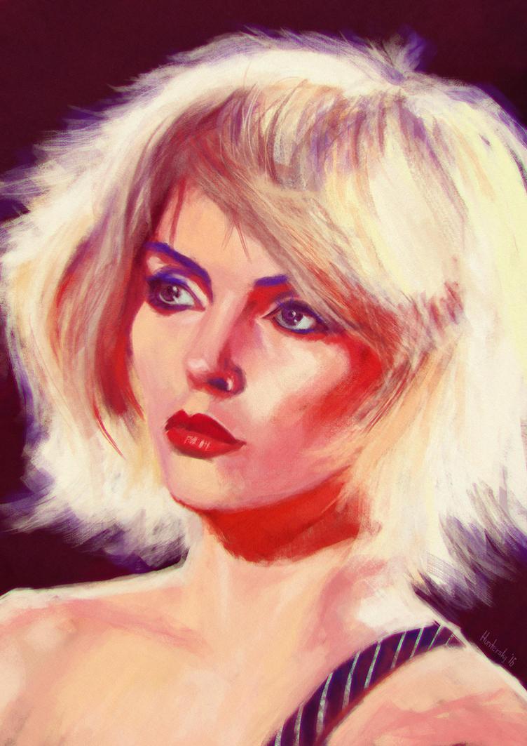 Debbie Harry by Huntersky