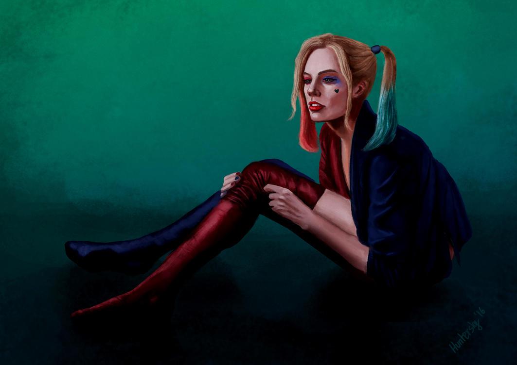 Harley Quinn by Huntersky
