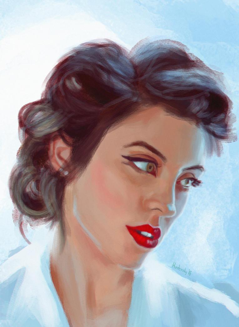 Amy Arburn by Huntersky
