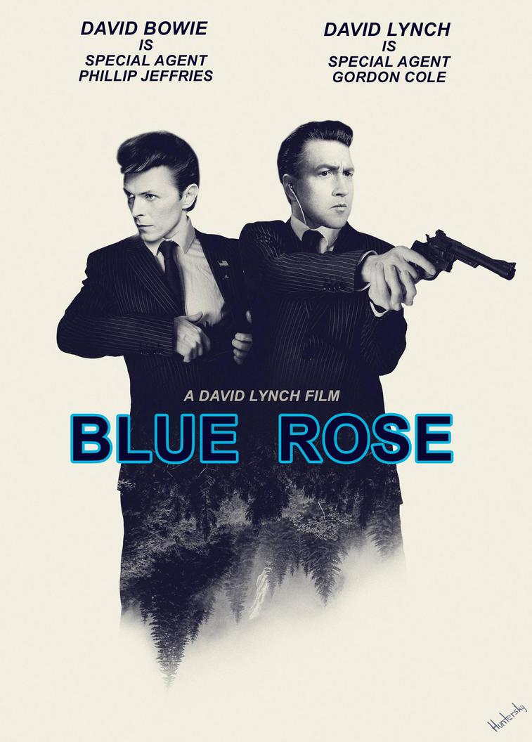 Blue Rose by Huntersky