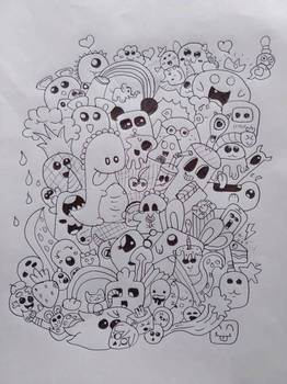 Crazy Doodling