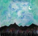 Dobbed Night Sky