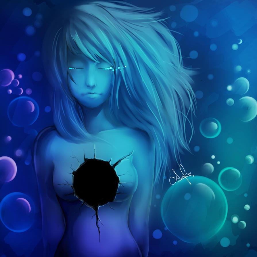 Feeling Blue by AkumaFairy