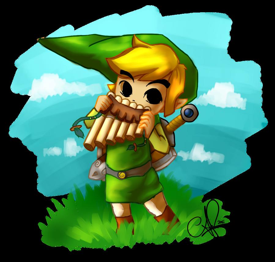 Toon Link by AkumaFairy