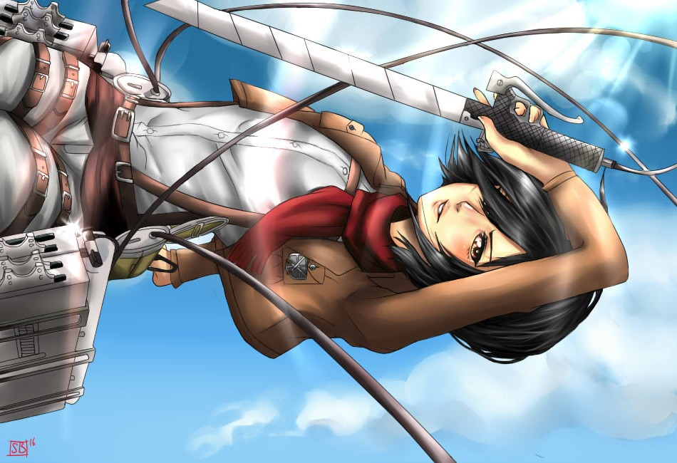 Mikasa Ackerman - Attack on Titan by SauceBox16