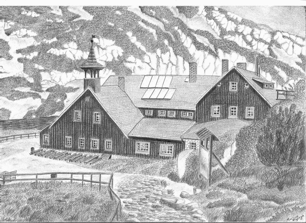 Samotnia mountain hut by jaceksawicki666