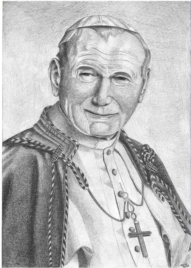 John Paul II by jaceksawicki666