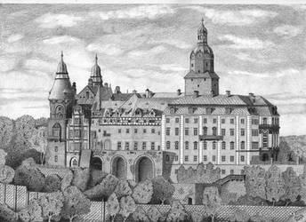 Ksiaz castle by jaceksawicki666
