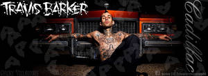 Travis Barker timeline cover by Chuky-182