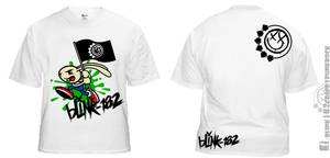 Blink 182 T-shirt by Chuky-182