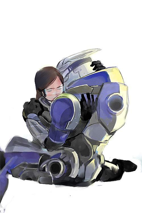 Hugging by fugenlove