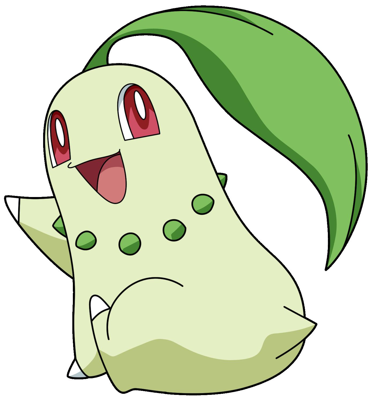 Racho's Nail Love: Pokémon NAC Week 6 - Grass - Chikorita