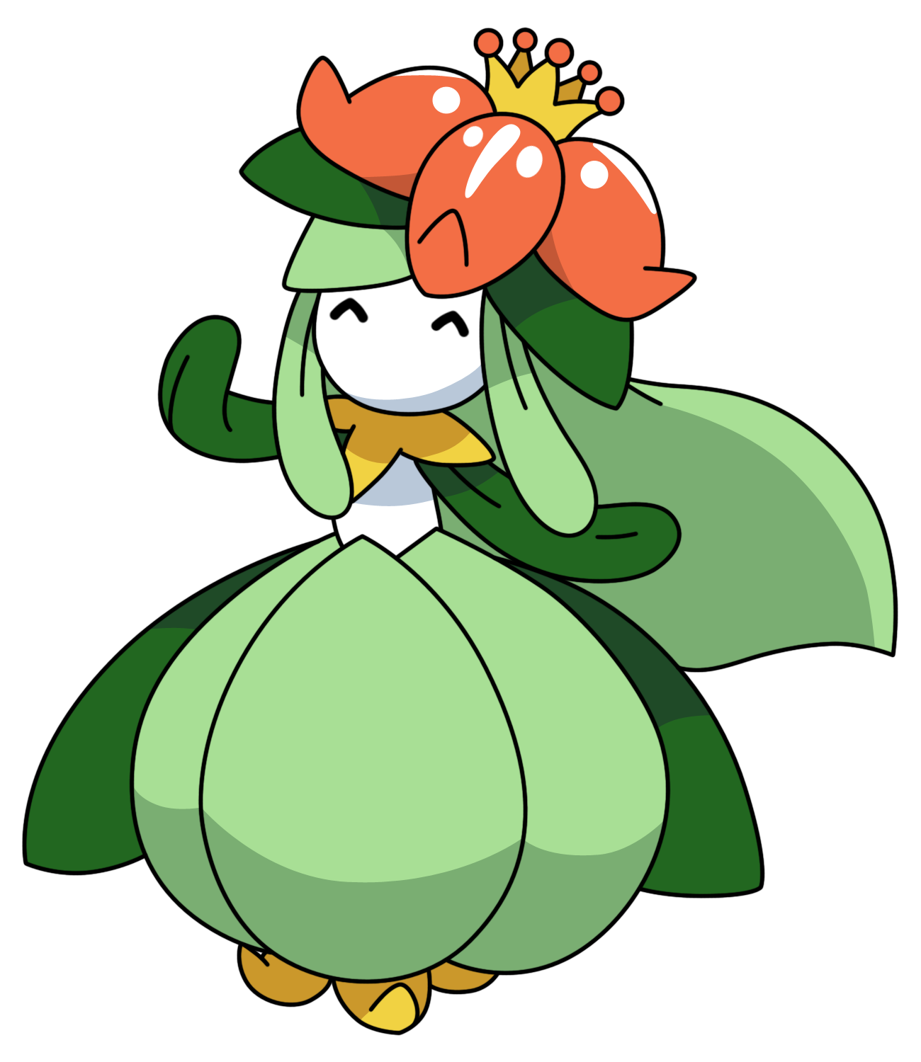 Lilligant by Kizarin on DeviantArt
