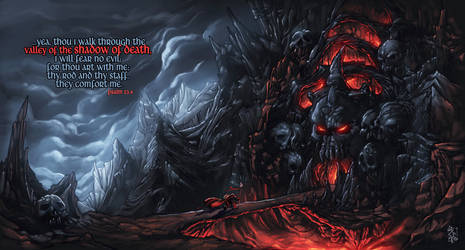 Valley of the Shadow of Death by thiagozero