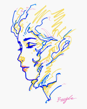 Drawing with Highlighters