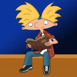 PH Arnold Reading The Journal