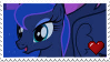 Stamp - Princess Luna by ArandomVelociraptor