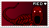 Stamp - Red by ArandomVelociraptor