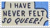 Stamp - Queer by ArandomVelociraptor