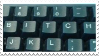Stamp - Keyboard by ArandomVelociraptor