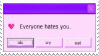 Stamp - Error Message by ArandomVelociraptor