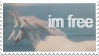 Stamp - I'm Free by ArandomVelociraptor