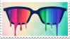 Stamp - Color Vision by ArandomVelociraptor