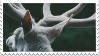 Stamp - White Stag by ArandomVelociraptor