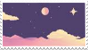 Stamp - Night Sky by ArandomVelociraptor