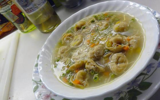 Tortellni Soup