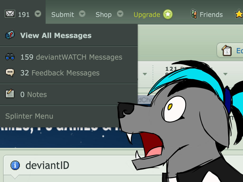 HOW MANY FEEDBACK MESSAGES!?! by mine-kid23