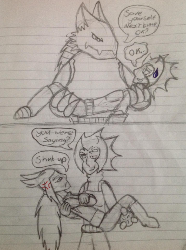 Saviour - comic by mine-kid23