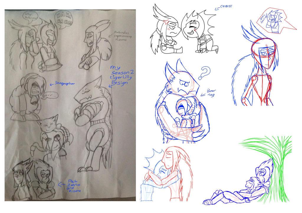Zetto and Kizuna image dump by mine-kid23